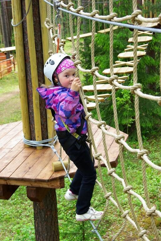 Children's track at the Alutaguse Adventure Park