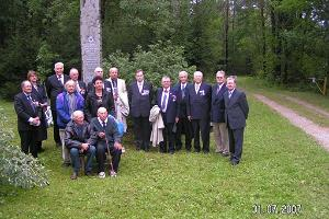 Monument to Finnish aviators – 10th anniversary celebrations