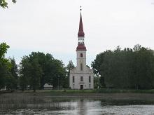 St Michael's Lutheran Church in Räpina