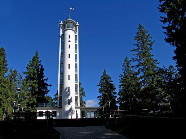 Observation tower on Suur Munamägi