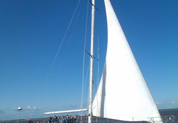 Sailing on Pärnu Bay with