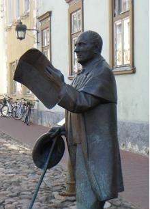 Sculpture of Johann Voldemar Jannsen