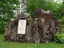 The Anrep memorial on Kärstna Kabelimägi (the Chapel Hill)