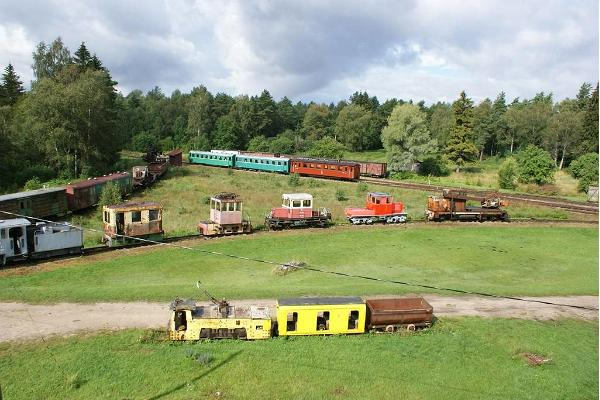 Estonian Museum Railway in Lavassaare
