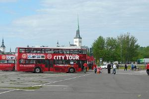 Tallinn City Tour sightseeing busstur