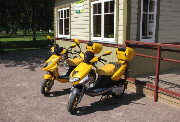 Scooter and rollerblade hire in Haapsalu