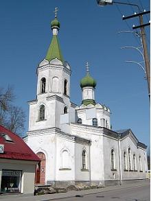 Orthodoxe Geburt-der-Mutter-Gottes-Kirche in Rakvere