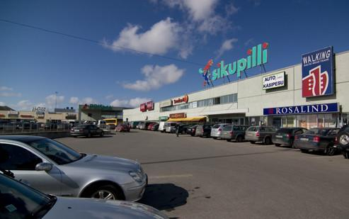 Sikupilli Shopping Centre – Façade