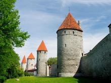 Hellemann tower and Tallinn's city wall