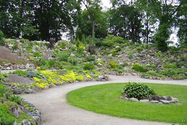 Rock Garden of the Botanical Gardens of the University of Tartu