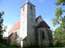 Saint Martin's Church in Valjala