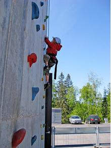Tehvandi Outdoor Climbing Wall