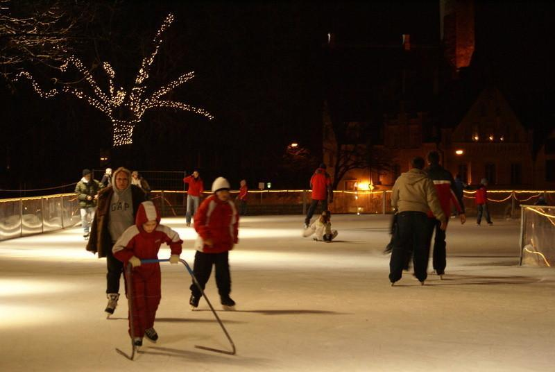 Ice rink on Harju Street