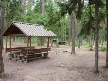 SFMC Kauksi camping area