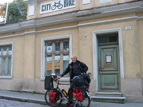 City Bike braucieni