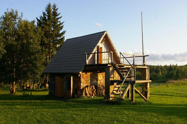 Metsa-Lukatsi Holiday House in Põlva County