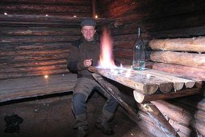 Metsavenna Farm - Forest Brother Meelis in his bunker