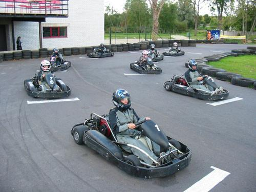 Kart-Center des Hotels Veski-Silla
