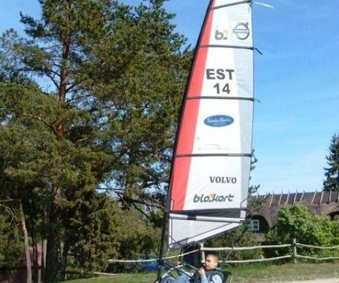 Blokarting (Land-Sailing) at Uuskalda Sports and Holiday Village