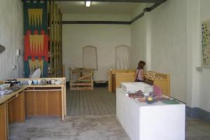 Haapsalu  Episcopal Castle handicraft shop