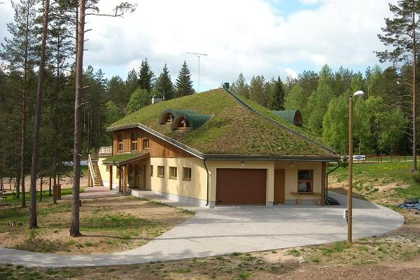Building of Valgehobusemäe Skiing and Holiday Centre