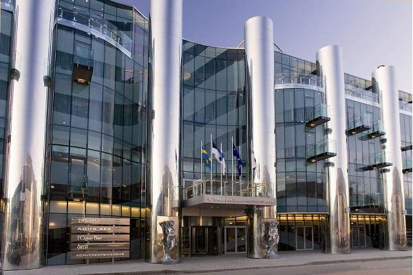 Façade of Tallink Spa & Conference Hotel