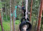 Adventure trail in Taevaskoja - a stimulating adrenaline rush!