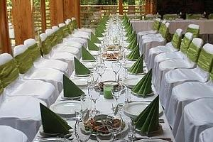 Seminar and banquet hall of the Taevaskoja Holiday Centre