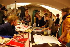 Serigraphy workshop