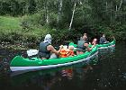 Canoeing on the Jägala River