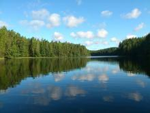 A self-guided bike tour of South Estonian lakes and hills