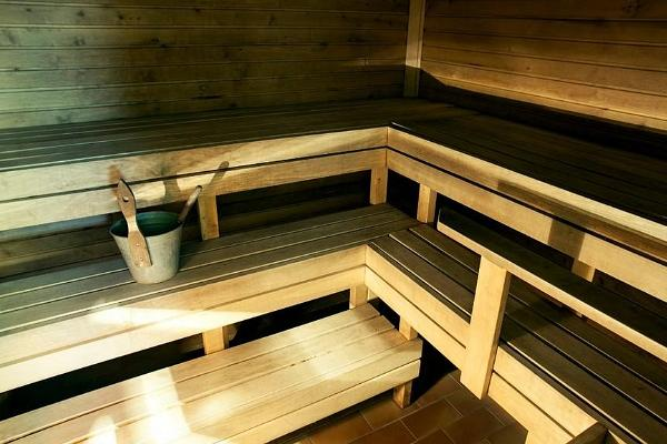 Sauna of the Mammaste Health and Sports Centre