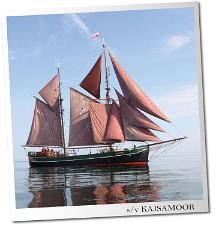 Sail'N'Dine - a dinner with the Captain on-board the historical 'Kajsamoor' sailing boat