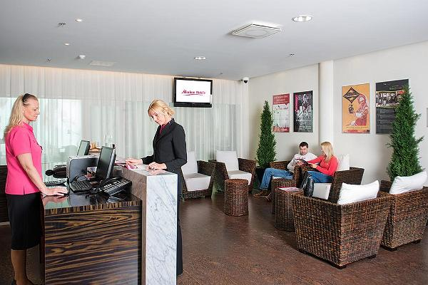 Receptionen i Wellness Spaa