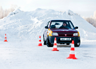 Take a trick car for a drive at Laitse Rally Park!