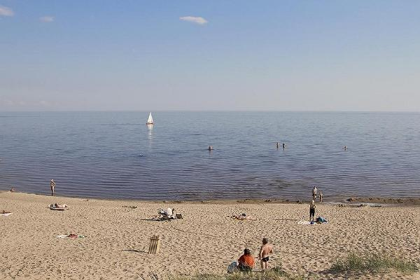 Kauksi beach on Lake Peipus
