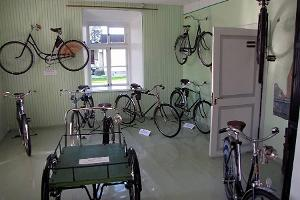 Green Room of the Estonian Bicycle Museum
