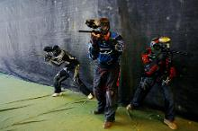 Paintballspiele in Estland