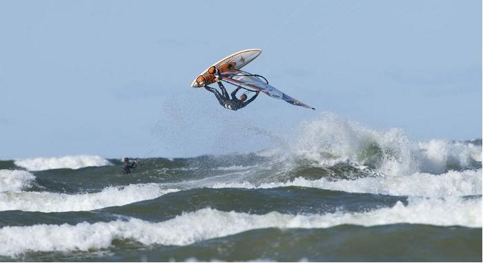 Windsurfen in Estland