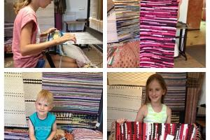 Rug workshop for children