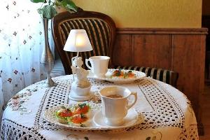 Romantic breakfast for two at Villa Eeden