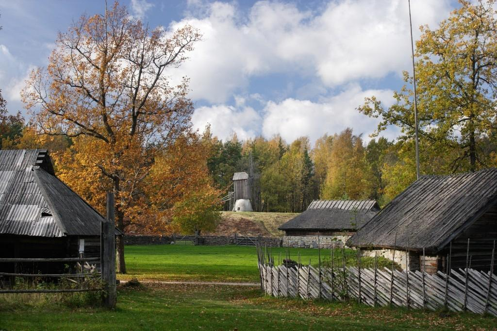 Autumn at the Estonian Open Air Museum