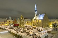 Estlands Weihnachtsmarkt zum Besten in Europa gewhlt