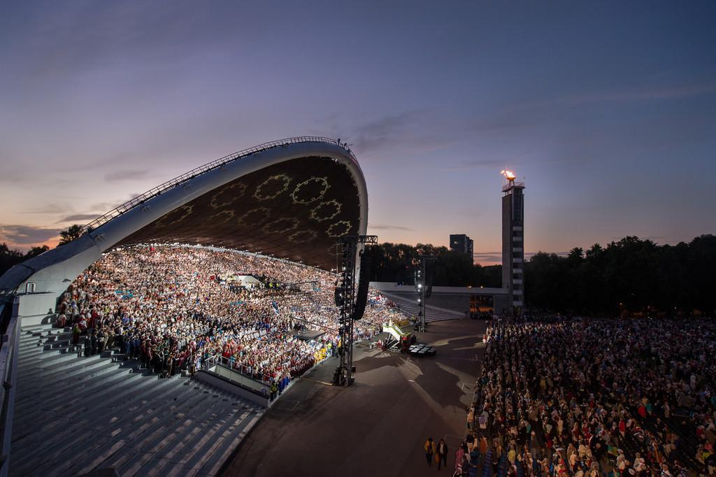 Tallinn's Song Festival Grounds