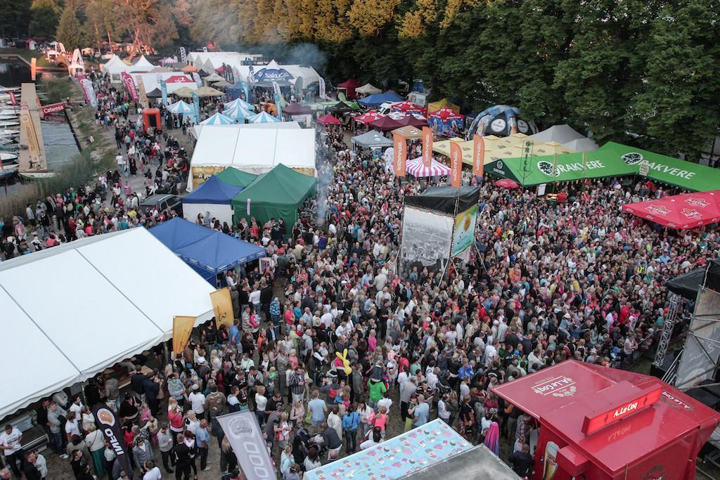 Every year, tens of thousands of food enthusiasts visit the Grillfest.