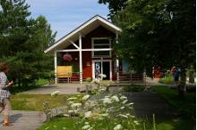 Nõva Nature Centre's information point