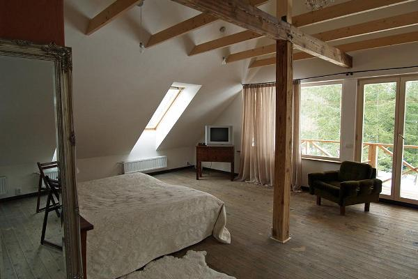 Suite in the main building of the Mokko Farm