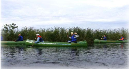 Canoeing in Matsalu National Park