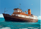 Steamer Katharina begins trips to Naissaar from mid-May