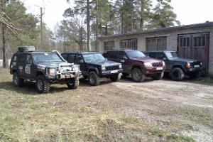Jeep safari in Saaremaa, adventure games, a quarry race